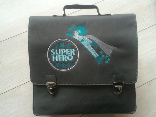 cartable étoile super hero