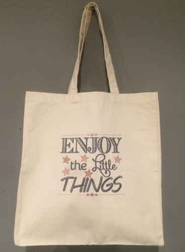 "tote bag "" enjoy"""