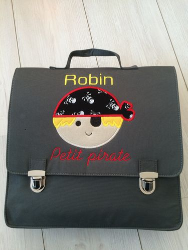 cartable petit pirate