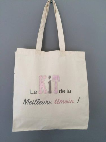 "tote bag ""spécial mariage"""